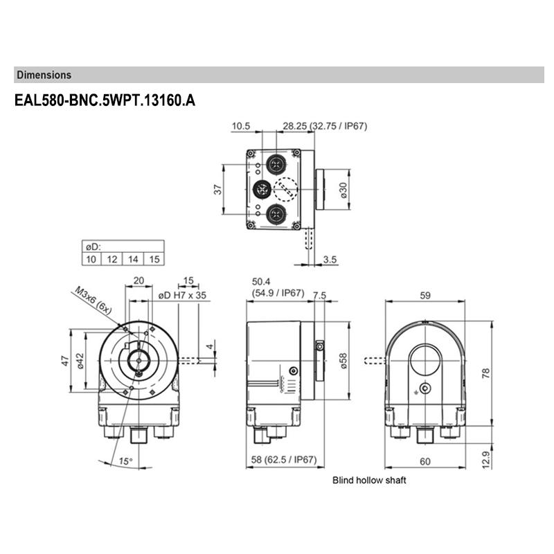 EAL580-BNC.5WPT.13160.A