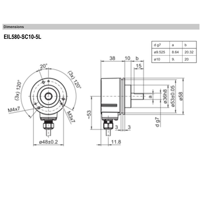 EIL580-SC10.5LN.00100.A
