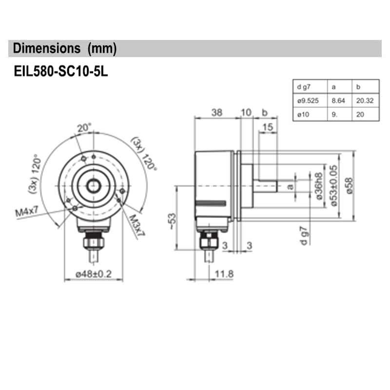 EIL580-SC10.5LE.02048.A
