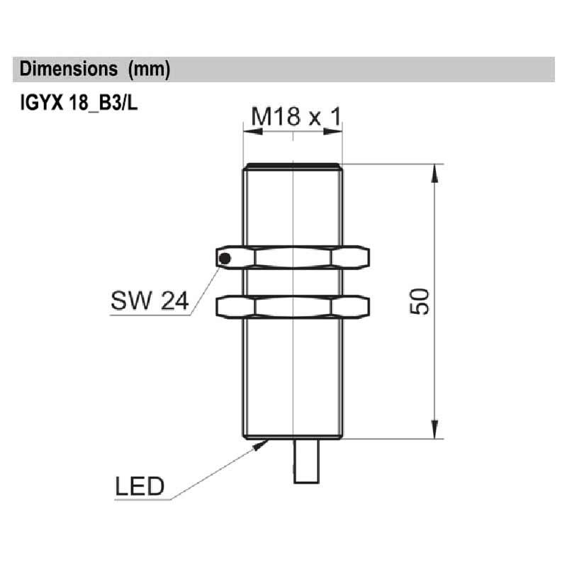 IGYX18P17B3/L