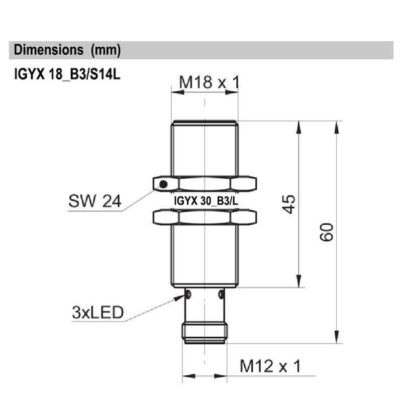 IGYX18P17B3/S14L
