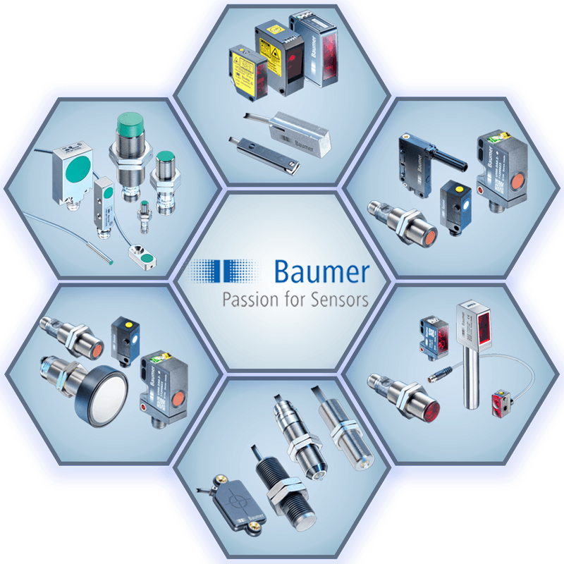Baumer Object, Position and Distance Measurement Sensors